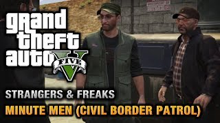 GTA 5 Minute Men (Civil Border Patrol) [100% Gold Medal
