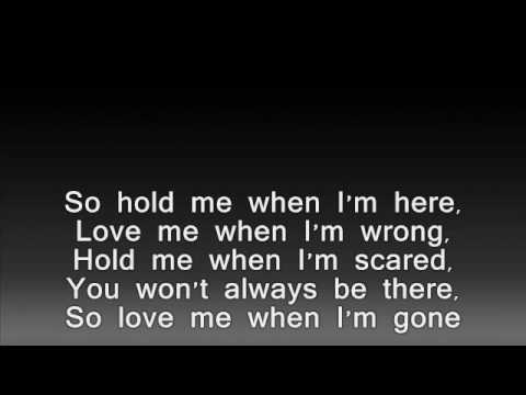 3 doors down-when I'm gone lyrics