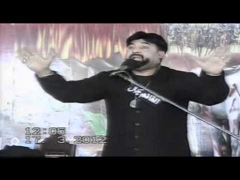 ALLAMA SYED TAHIR ALI KAZMI 17-MARCH-2012 AT ISKANDERABAD(MIANWALI)
