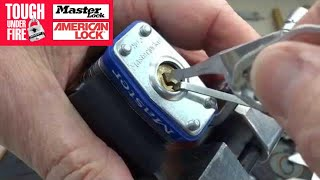 Opening A Lock With A Cat Food Can