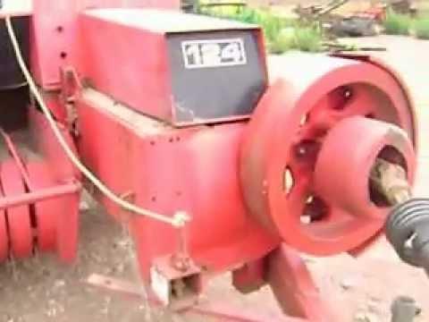 MOV05989 Empacadora Massey Ferguson 124 de Hilo $4,000 Dlls.