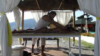 Beach massage Budva