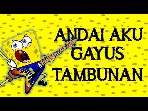 spongebob nyanyi gayus tambunan