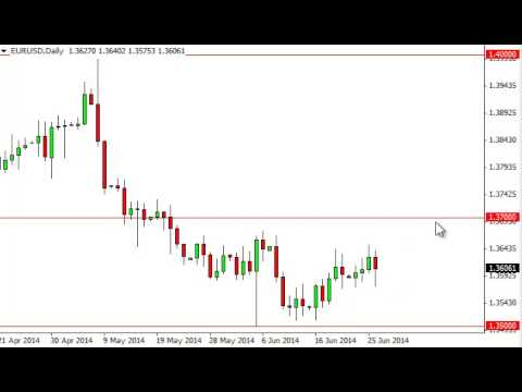 EUR/USD Technical Analysis for June 27, 2014 by FXEmpire.com