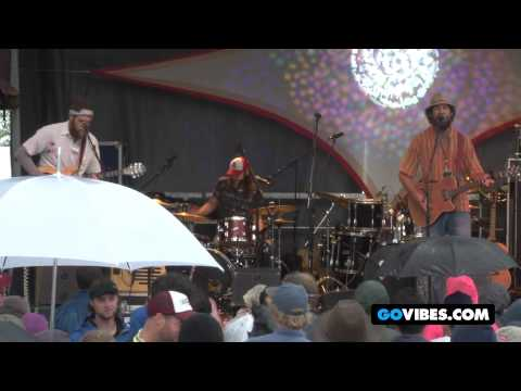 "Dangermuffin Performs ""Walk into the Wind"" at Gathering of the Vibes Music Festival 2012"