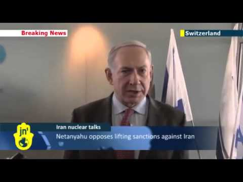 February 2014 Israeli Benjamin Netanyahu warns of war from Iran bad deal