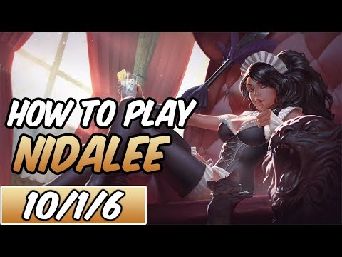 HOW TO PLAY NIDALEE | Build & Runes | Diamond Commentary | French Maid Nidalee | League of Legends