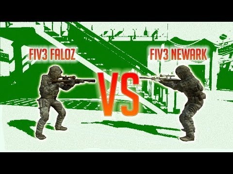 BO2 - 1 vs 1 au sniper contre FIV3 NEWARK