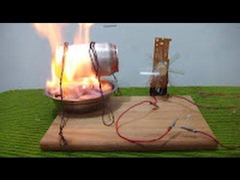 Como hacer un generador de energía eléctrica