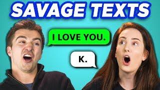 COLLEGE KIDS READ 10 SAVAGE TEXTS (REACT)