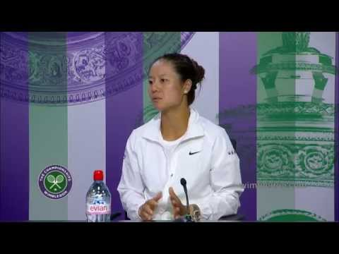 Li Na press conference (1R) - Wimbledon 2014