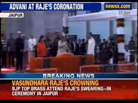Modi to attend Vasundhara Raje's oath-taking ceremony as Rajasthan Chief Minister - NewsX