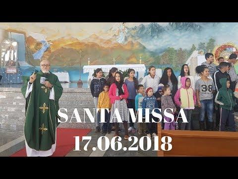 Santa Missa | 17.06.2018 | Padre José Sometti | ANSPAZ