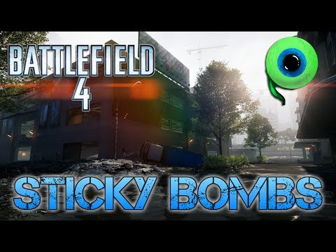 Battlefield 4 Multiplayer | STICKY BOMBS! (M2 Slam) | Testing out my PC at Max Settings