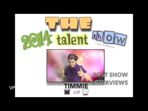2014 talent show - Post show interviews w/Timmie