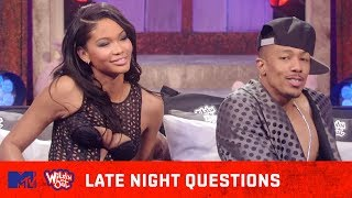 Chanel Iman & Nick Cannon Heat Things Up In The Bedroom 🔥 Wild 'N Out   #LateNightQuestions