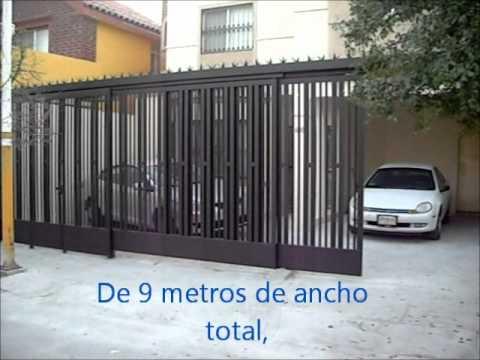 Barandal corredizo herreria artistica for Puertas de herreria artistica