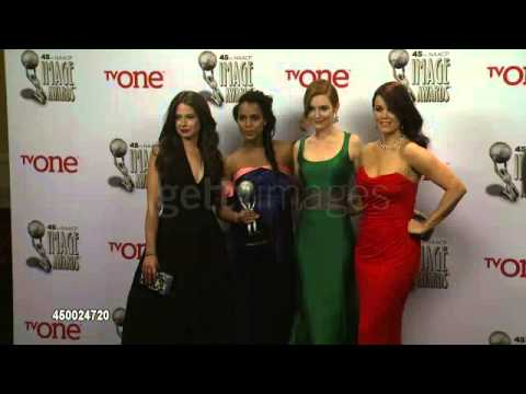 Scandal Cast - 45th NAACP Image Awards (1)