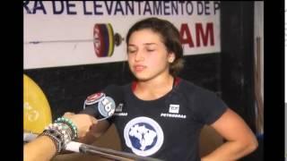 Mineira de 17 anos que pratica levantamento de peso estar� no mundial do Peru