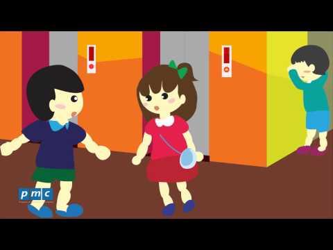 An toàn cho trẻ em - Mắc kẹt trong thang máy