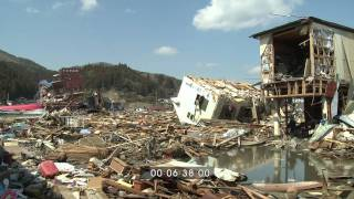 Japan Tsunami Aftermath Worst Hit Areas, Kesennuma - Full HD Screener Part 1