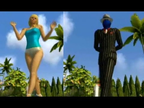Playstation Home - nDreams Elegant Walk Full Preview (Female & Male)