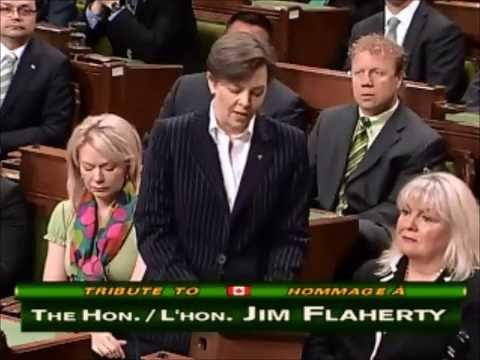 Tribute to the Hon Jim Flaherty April 11 2014 HOC Canada