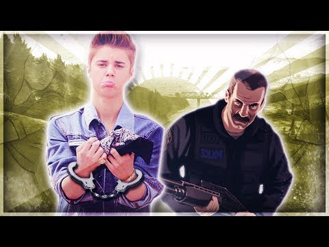 JUSTIN BIEBER ARRESTED IN GTA 5!