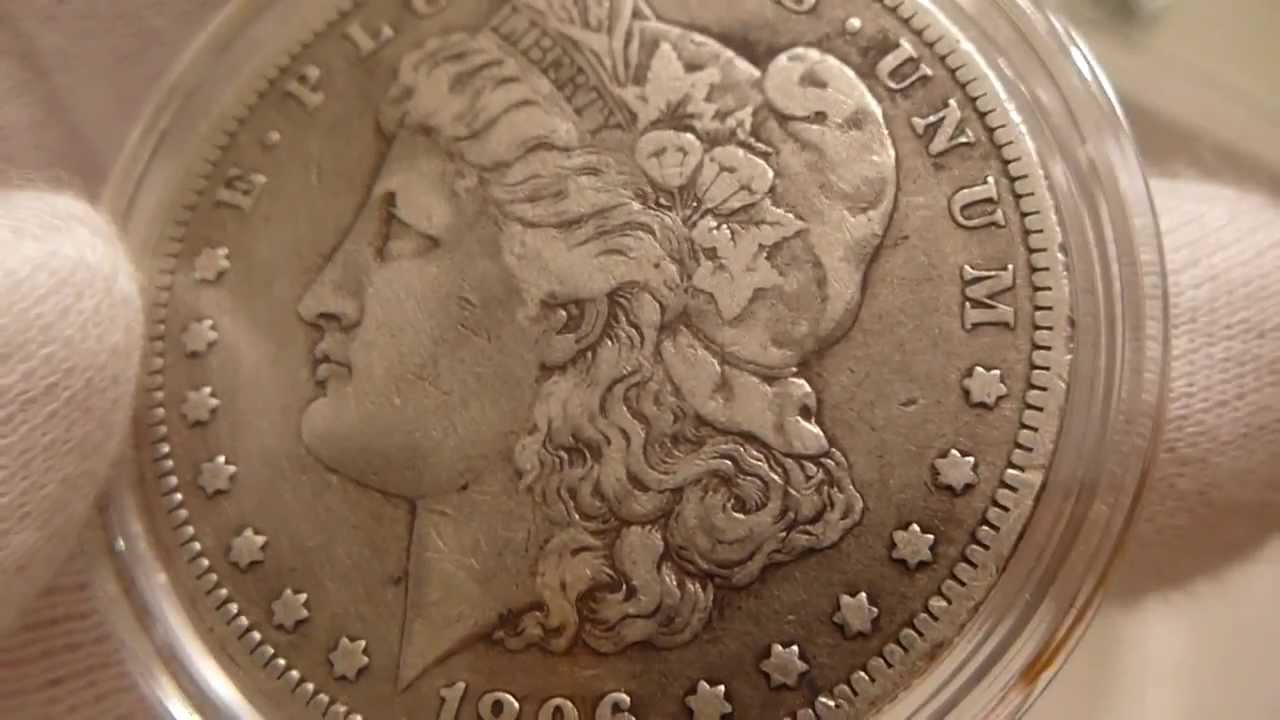 1896 O Morgan Silver Dollar Coin Review Youtube