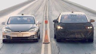 Tesla Model S P100D vs. Faraday Future FF 91 vs. Bentley Bentayga vs. Ferrari 488 GTB. YouCar Car Reviews.