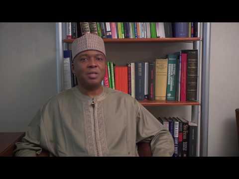 Senate President,  Bukola Saraki explains the Electoral Act No. 6 2010 (Amendment) Bill.
