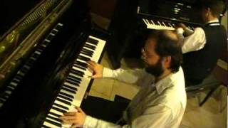 Improvised Two-piano Chopsticks Redux- Tom Brier And