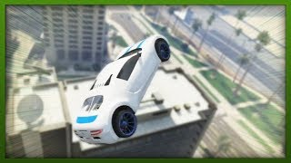 GTA 5 Stunts Top 5 Stunts AWESOME Car & Bike Tricks