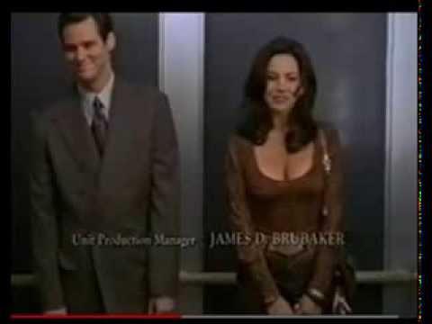 Krista Allen & Jim Carrey Liar Liar Outtakes. Super Funny ...