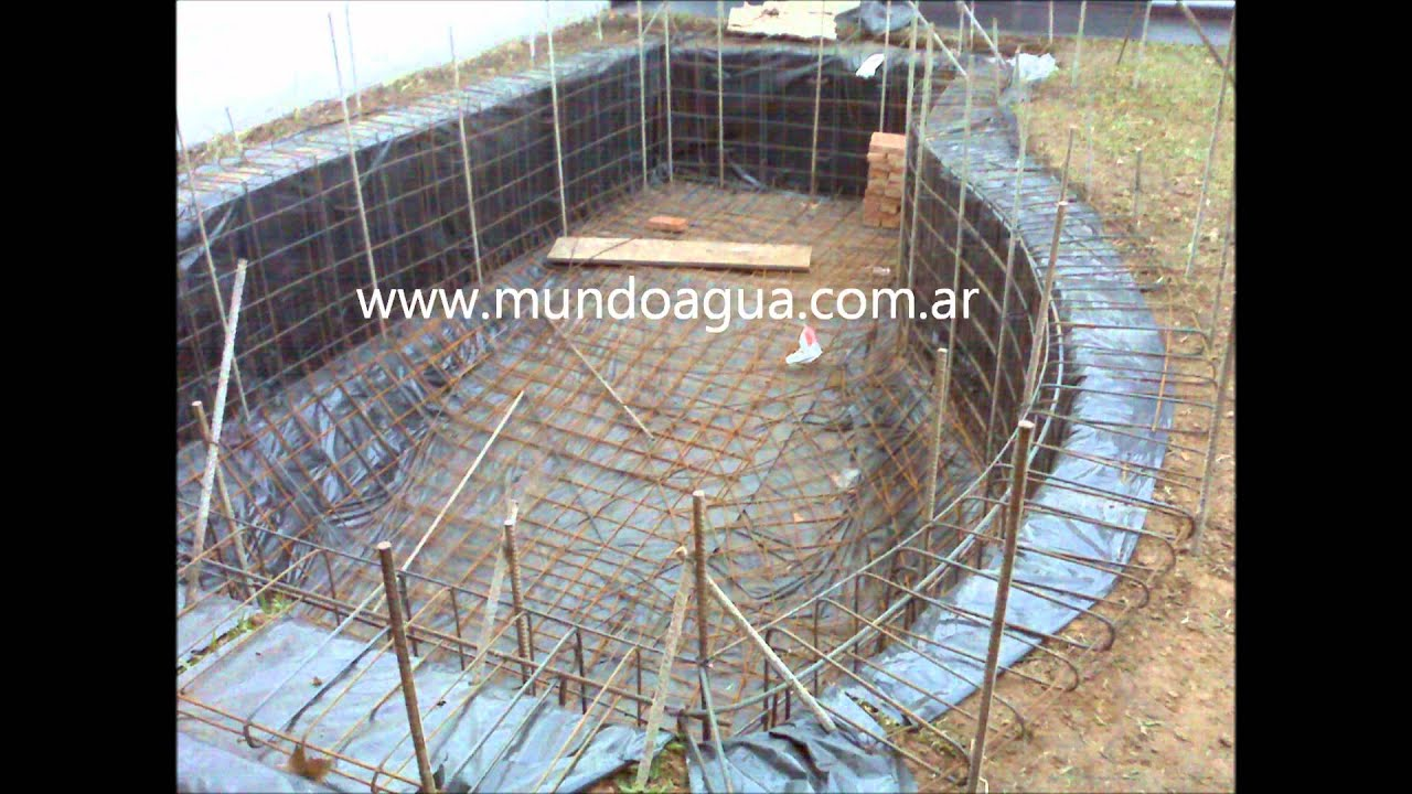 Construcci n de piscina youtube - Construccion de piscina ...