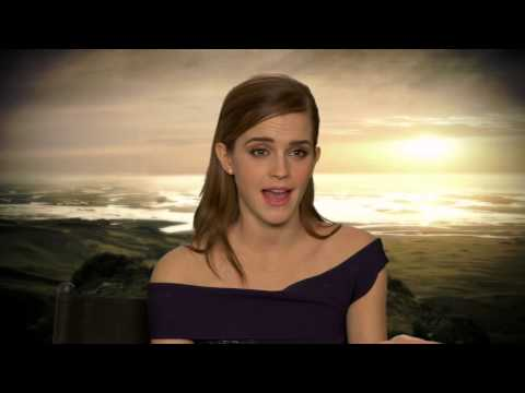 "Noah: Emma Watson ""Ila"" On Set Movie Interview"