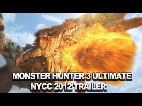 Monster Hunter 3 Ultimate Trailer - NYCC 2012