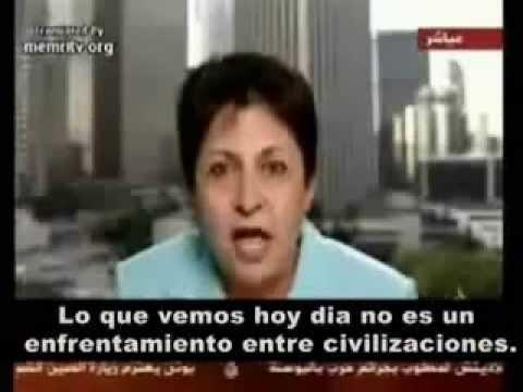 Presentadora habla sobre el Islam y la revolución árabe