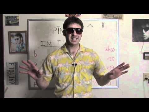 Learn Chinese With Mike: Lesson 2 (Pinyin: The Initials) -kuhq6T7ss5E
