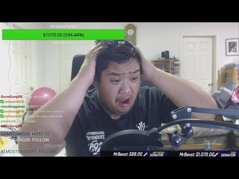 Donating 10000 To Random Twitch Streamers
