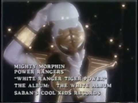 Mighty Morphin Power Rangers Quot White Ranger Tiger Power