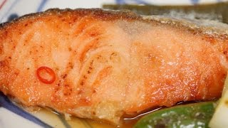 Salmon Yakizuke Recipe | Cooking with Dog