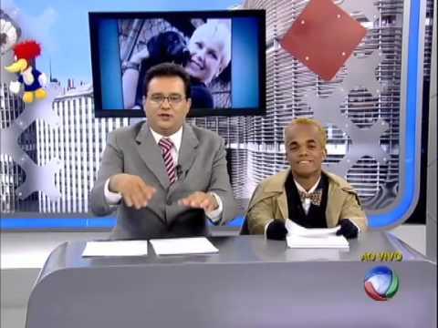 Geraldo Luiz xinga Luana Piovani ao vivo no Balanço Geral