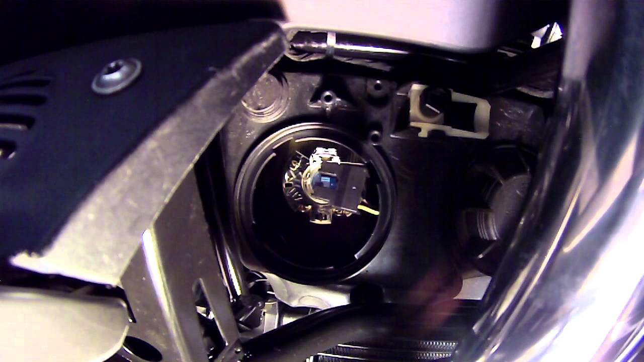 Bmw R1200 Rt Headlight Change Instructions Youtube