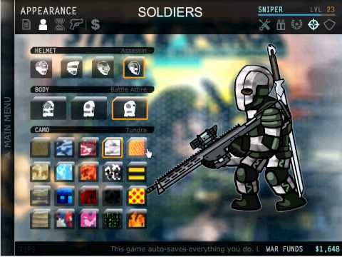 Strike force heroes sniper all camo costume youtube
