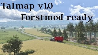 Farming Simulator 2013 Presentazione Talmap V1.0 Forstmod ready