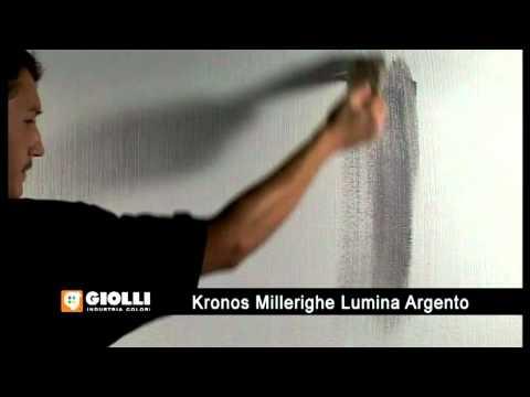 Giolli - tynk ozdobny Kronos i farba dekoracyjna Lumina Argento