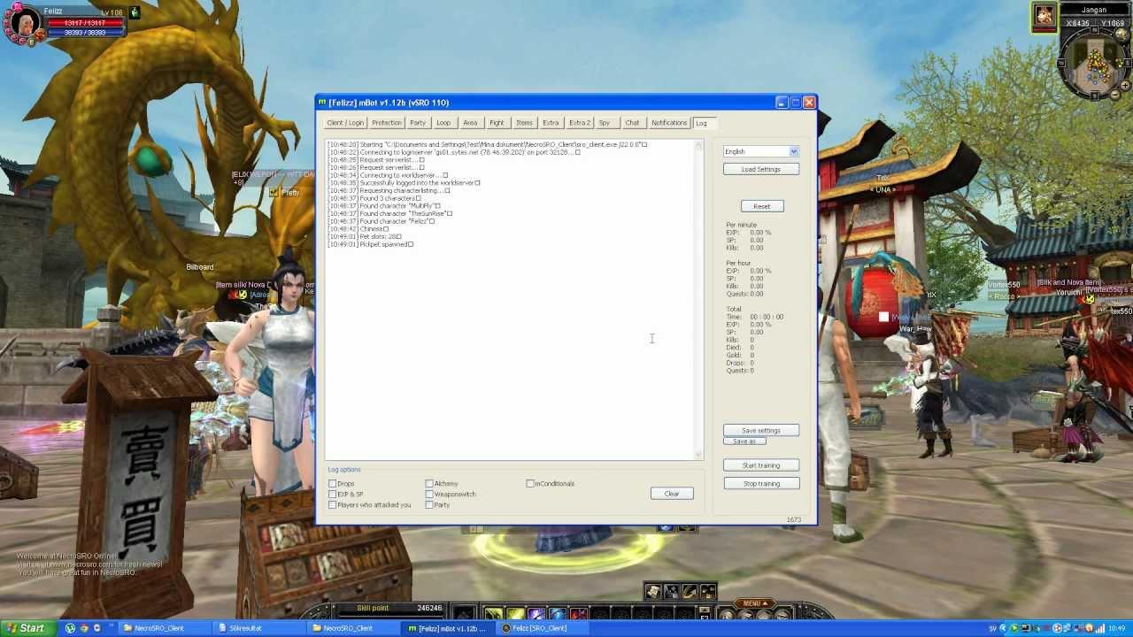 bot for silkroad online download