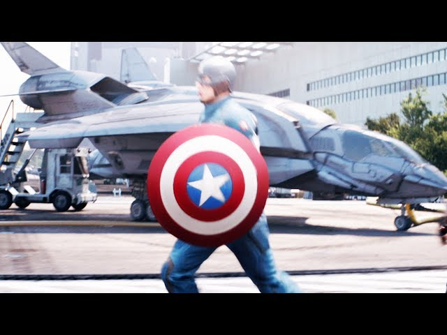 Captain America 2: The Winter Soldier Trailer #2 Official - 2014 Movie [HD]