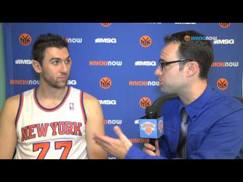 1-on-1 With Andrea Bargnani